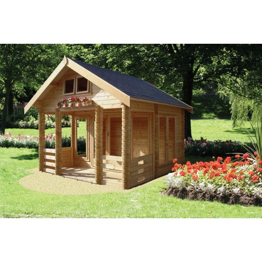 Shire Rockingham Pine Lodge 44mm