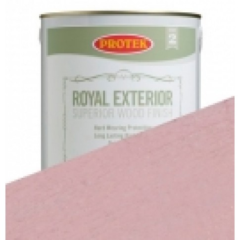 Protek Royal Exterior Off White - Rose Pink (2.5litre)