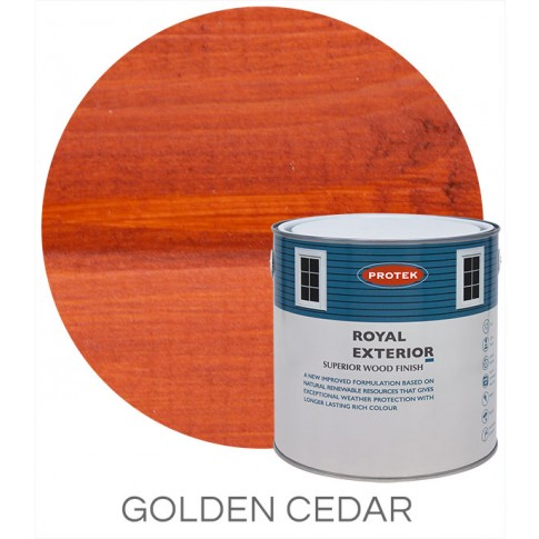 Protek Royal Exterior Natural Stain - Golden Cedar (5 litre)