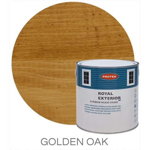 Protek Royal Exterior Natural Stain- Golden Oak (5 litre)