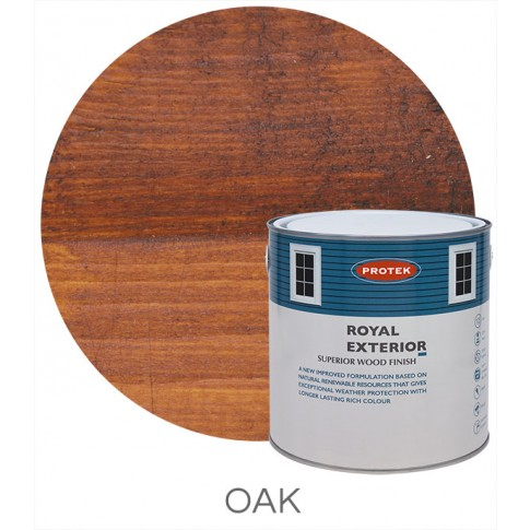 Protek Royal Exterior Natural Stain - Oak (5 litre)