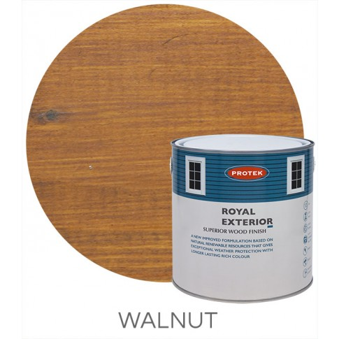 Protek Royal Exterior Natural Stain - Walnut (5 litre)