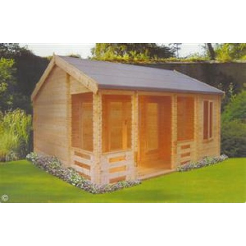 Shire Sherwood Pine Lodge 70mm - 20 x 18ft