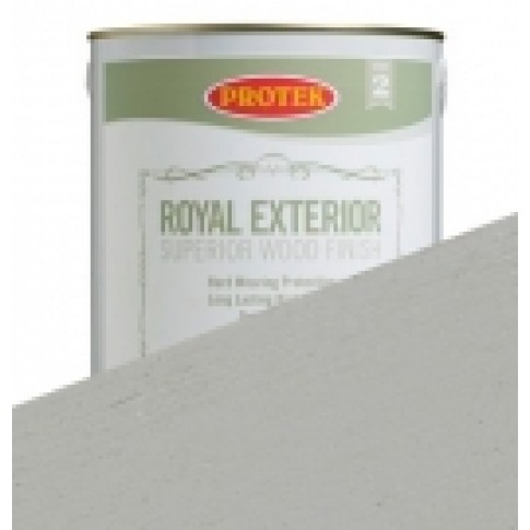 Protek Royal Exterior Soft Colours - Silver Grey (5 litre)