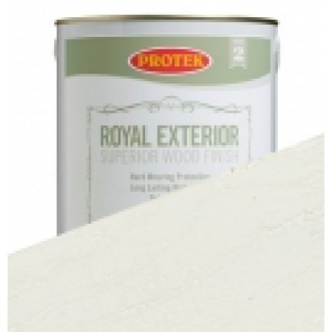 Protek Royal Exterior Off White - Snow (1 litre)