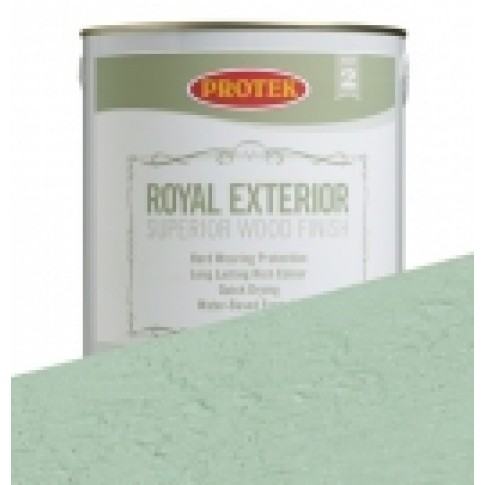 Protek Royal Exterior Soft Colours - Spring Green (2.5litre)