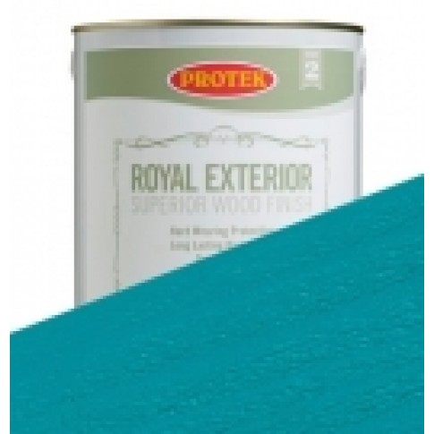 Protek Royal Exterior Vibrant Colours - Teal (2.5litre)