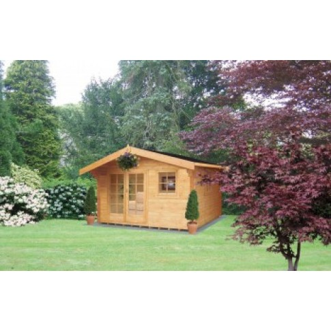 Shire Tunstall Pine Lodge 44mm