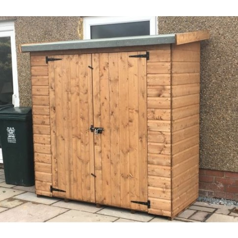 Heavy Duty Wall Shed - 6ft x 2ft 6