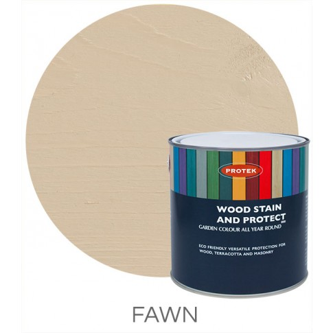 Protek Wood Stain & Protector - Fawn (5 litre)