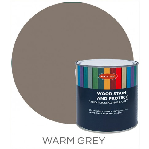 Protek Wood Stain & Protector - Warm Grey (1 litre)