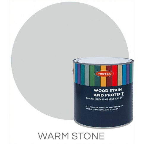 Protek Wood Stain & Protector - Warm Stone (1 litre)