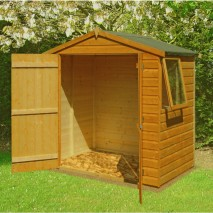Shire Bute Shiplap Apex 6 x 4ft