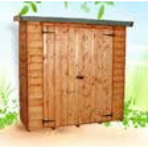 Albany Premium Wall Shed - 6ft x 2ft 6