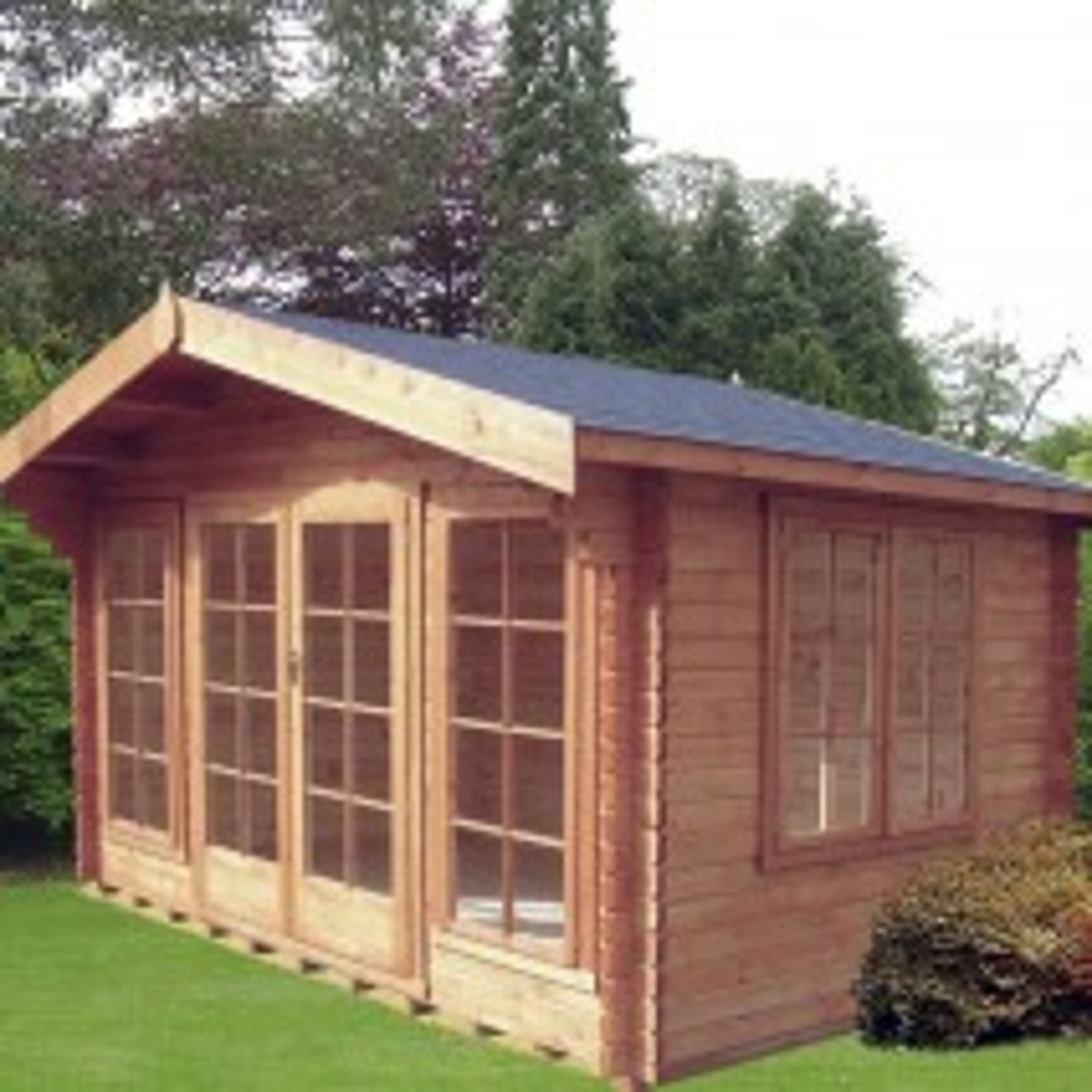 Shire Argyll Log Cabin 34mm