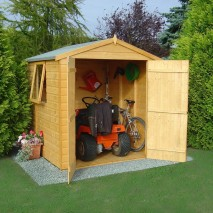 Shire 6' x 6' Arran Apex with Double Door