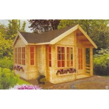 Shire Bedgbury Pine Lodge 70mm - 17 x 17ft