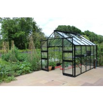 Eden Blockley  8ft wide Greenhouse Black