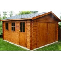 Bradenham Garage 28mm logs