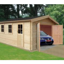 Bradenham Garage 44mm logs