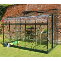 Halls Silverline Lean-to (3 Sizes) - Green