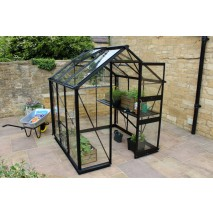 Eden Burford  6ft wide Greenhouse Black