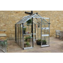 Eden Burford  6ft wide Greenhouse aluminium