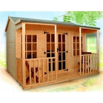 Heavy Duty Albany Carlton Summerhouse (2 Sizes)