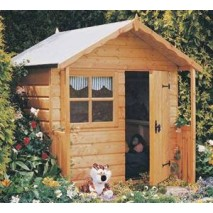 Shire Club Playhouse - 5 x 4ft