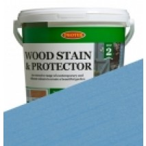 Protek Wood Stain & Protector - Cornflower (5 litre)
