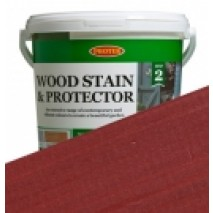 Protek Wood Stain & Protector - Cranberry Crush (1 litre)