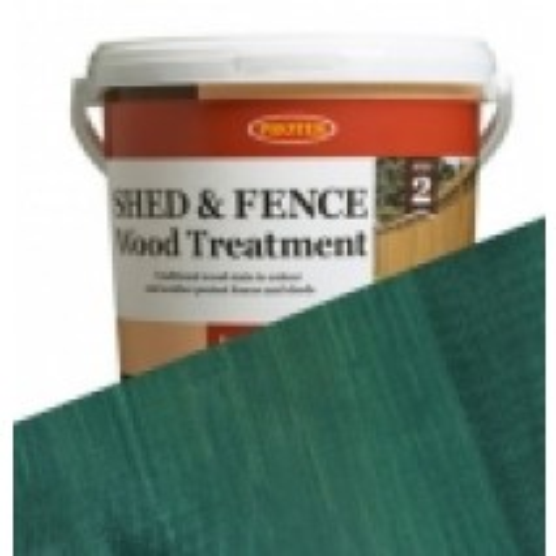 Protek Shed & Fence - Dark Green (5 litre)