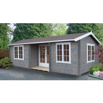 Shire Elveden Pine Lodge 70mm - 14 x 26ft