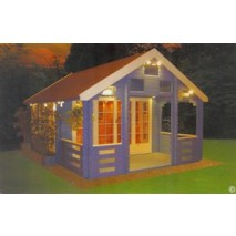 Shire Glentress Pine Lodge 44mm - 18 x 13ft