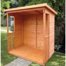 Albany Gretton open fronted shelter (3 sizes)