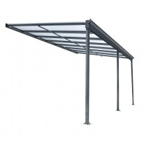 Kingston 10ft Wide Lean to Carport Patio Cover
