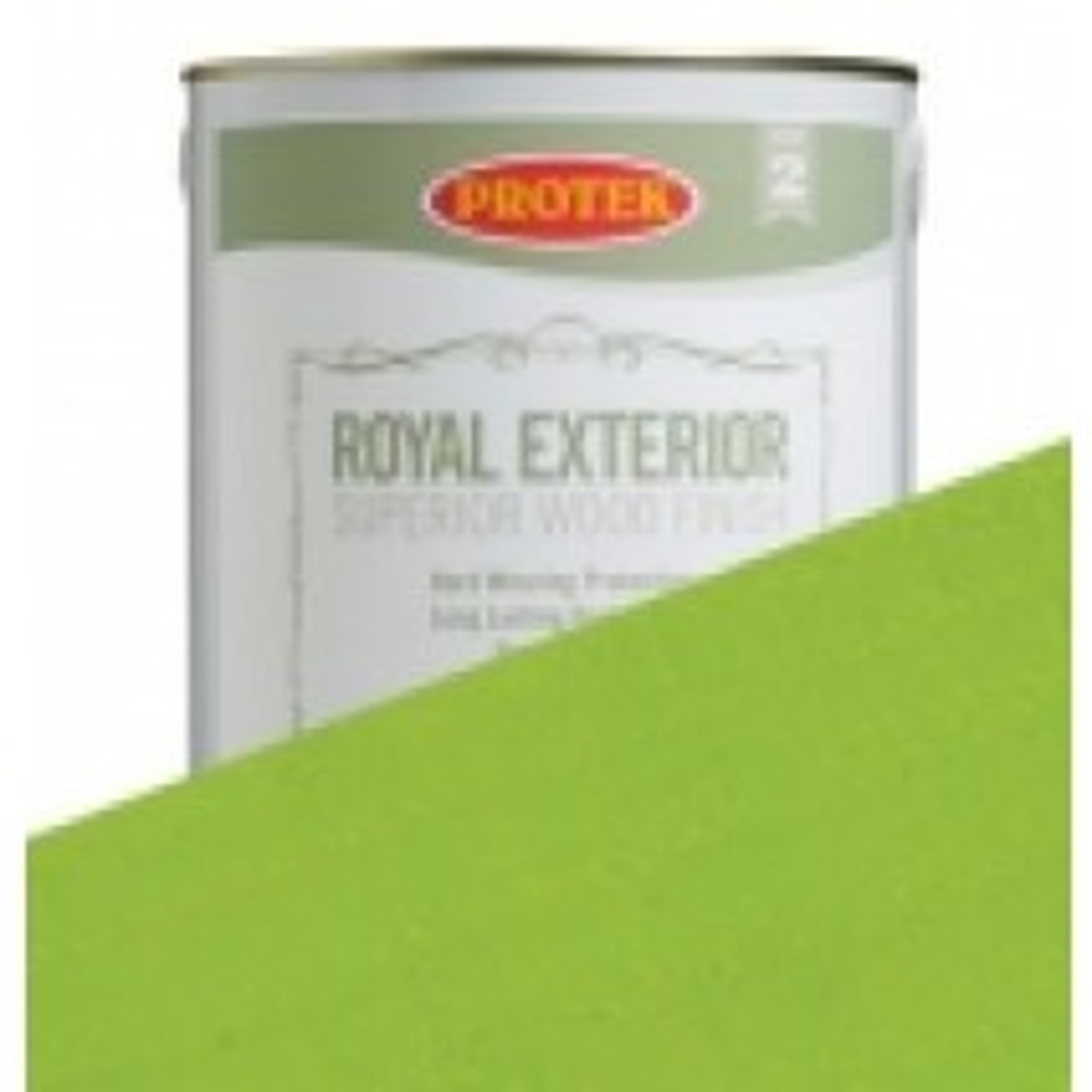 Protek Royal Exterior Vibrant Colours - Lime Green (2.5litre)