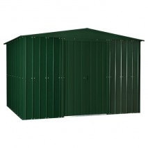 Lotus Steel Shed (10ft wide) - Heritage Green