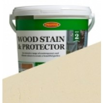 Protek Wood Stain & Protector - Parsonage Cream (5 litre)