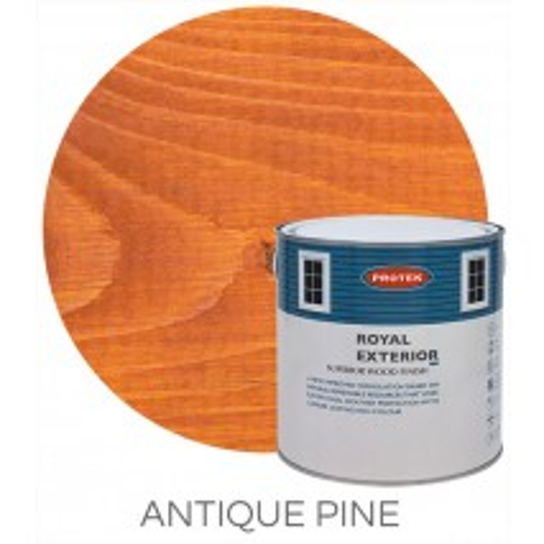 Protek Royal Exterior Natural Stain - Antique Pine (5 litre)