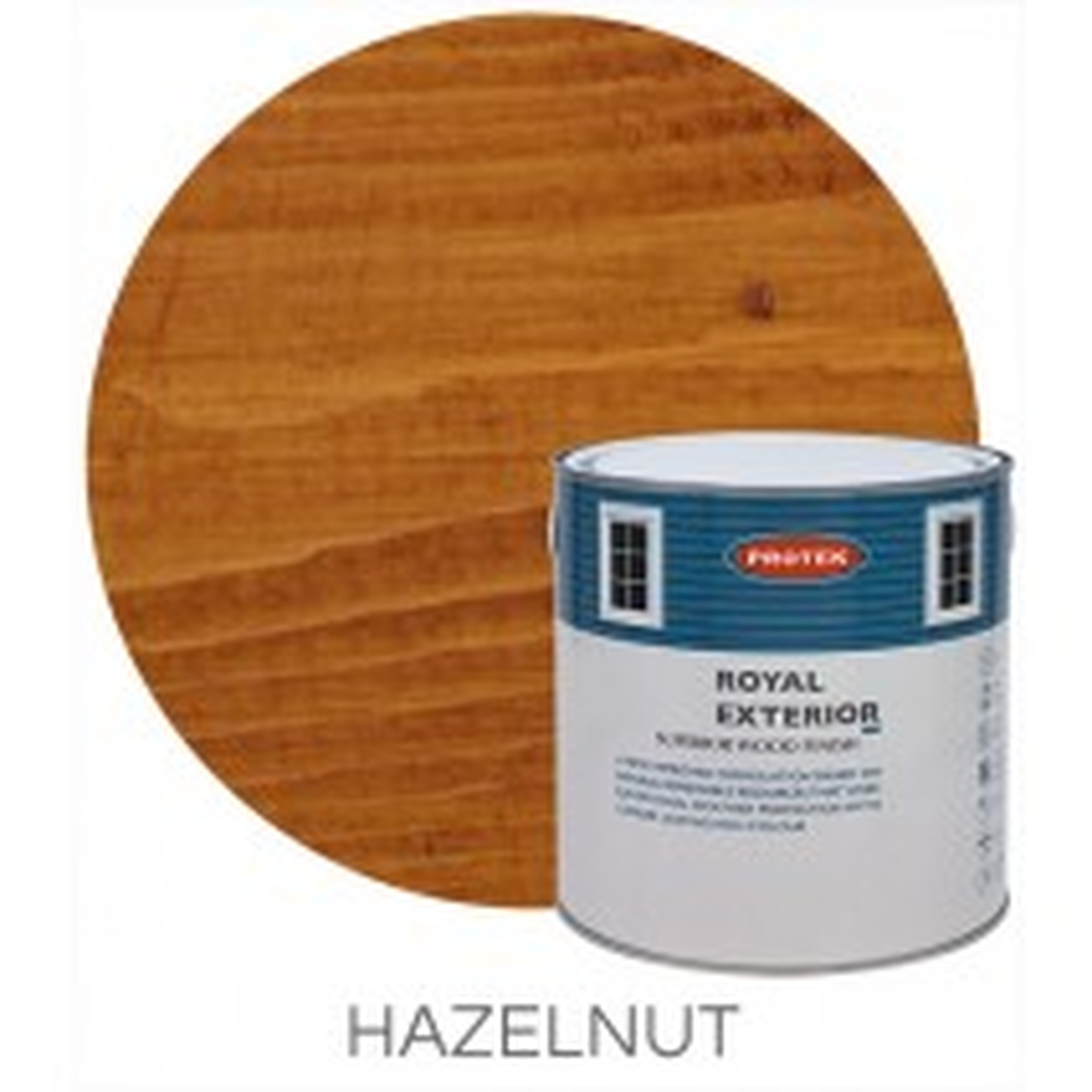 Protek Royal Exterior Natural Stain - Hazelnut (1 litre)