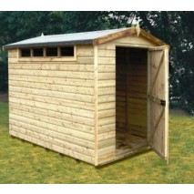 Shire Security Apex Shed (5 Sizes)