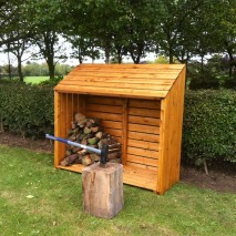 Shire Log Store - 5 x 2ft