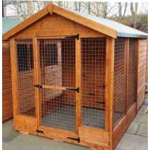 Albany Welland Kennel & run 10 x 6ft