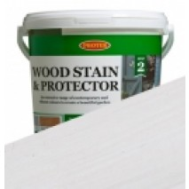 Protek Wood Stain & Protector - Whitewash (1 litre)