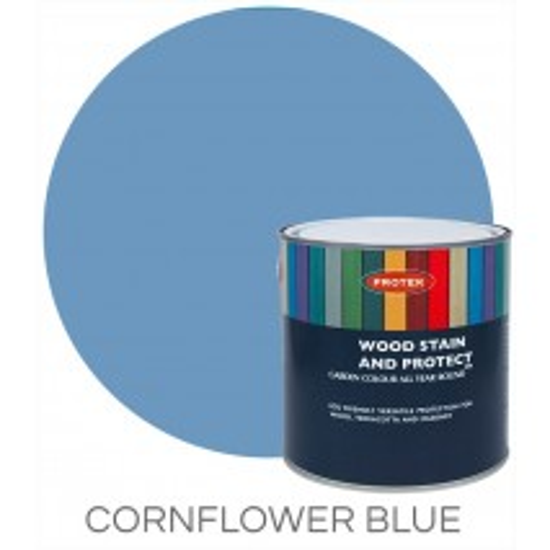 Protek Wood Stain & Protector - Cornflower (1 litre)