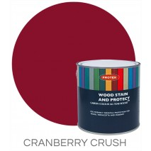 Protek Wood Stain & Protector - Cranberry Crush (5 litre)