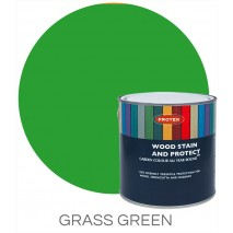 Protek Wood Stain & Protector - Grass Green (1 litre)