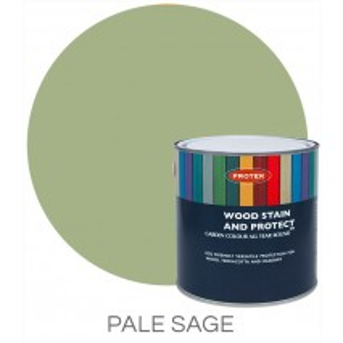 Protek Wood Stain & Protector - Pale Sage (5 litre)