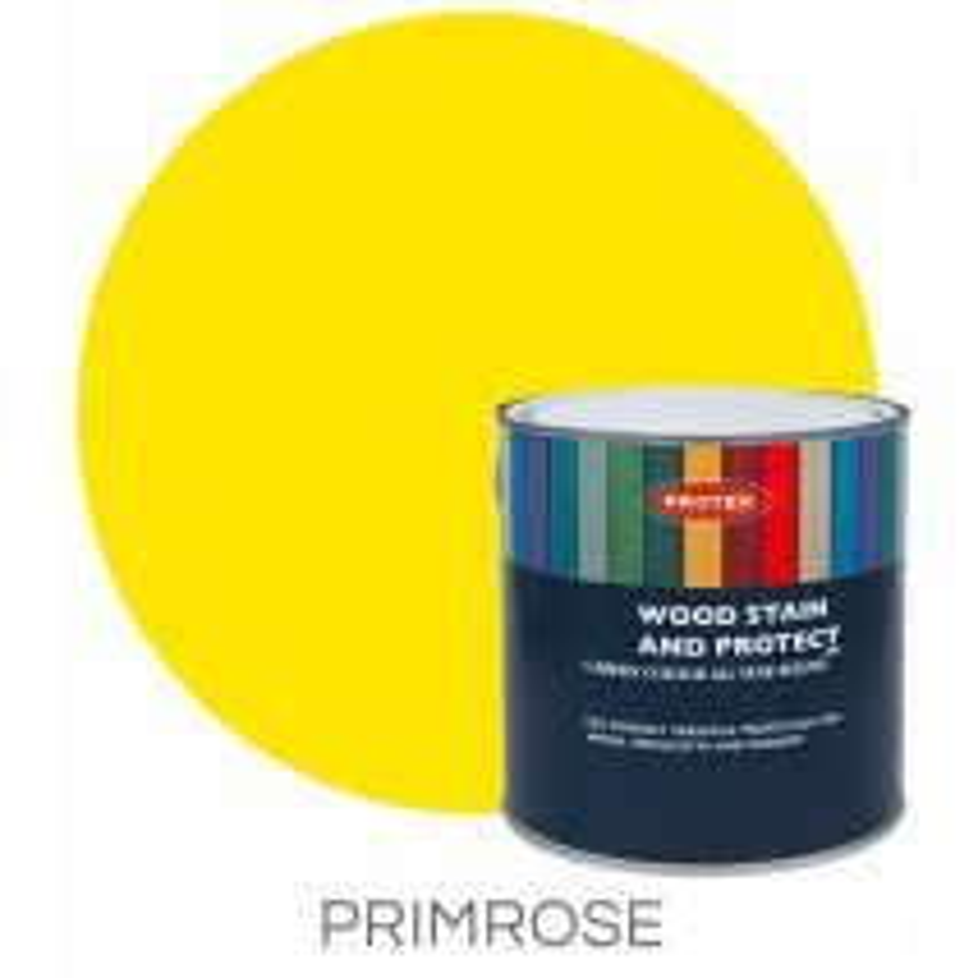 Protek Wood Stain & Protector - Primrose (1 litre)